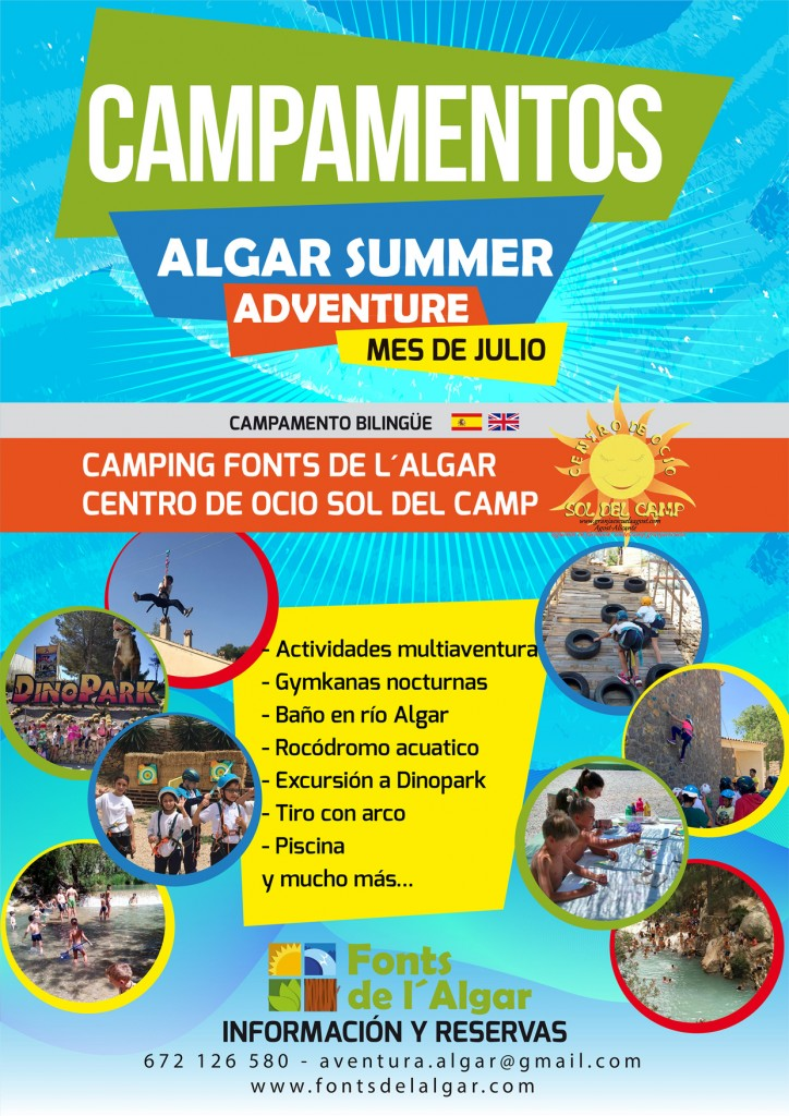 algar summer adventure